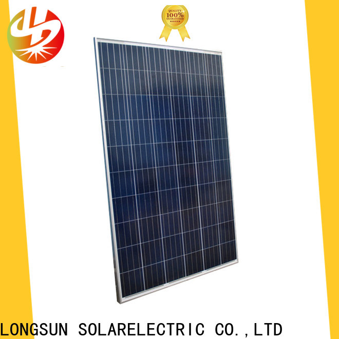 Longsun mono powerful solar panels series for meteorological