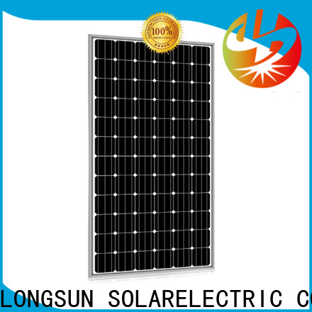Longsun widely used high output solar panel series for lamp power supply