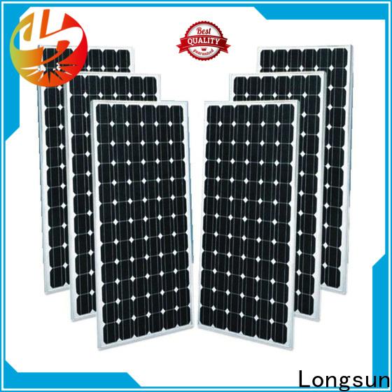 Longsun monocrystalline solar module producer for ground facilities