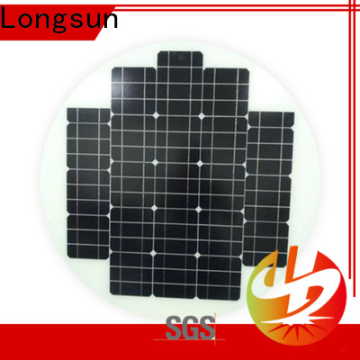 Longsun circle solar panel manufacturers wholesale for other Solar applications