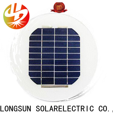 Longsun circle solar panel wholesale for other Solar applications