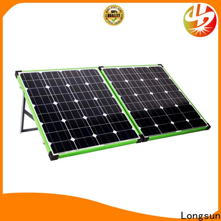 Longsun eco-friendly folding solar panels wholesale for caravaning