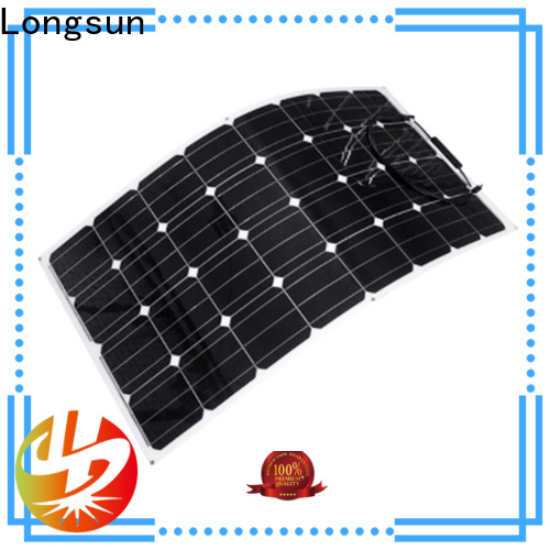 Longsun eco-friendly advanced solar panels directly sale for roof of rv