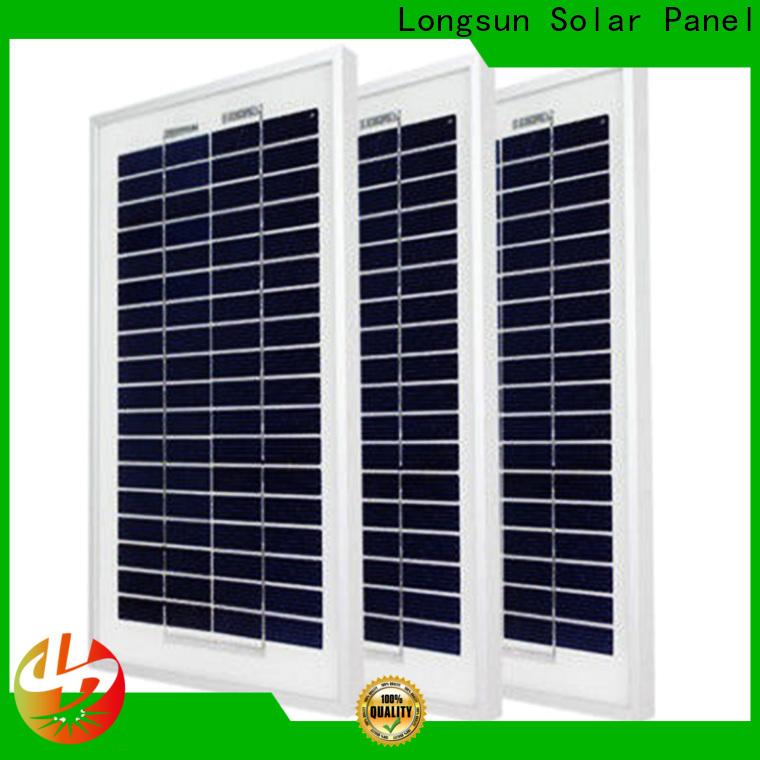 Longsun widely used polycrystalline solar cells dropshipping for solar street lights