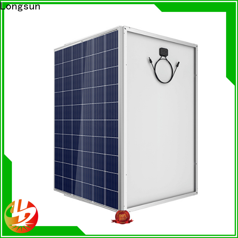 Longsun 320w high power solar panels for petroleum