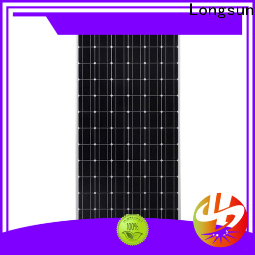 Longsun mono highest watt solar panel factory price for lamp power supply