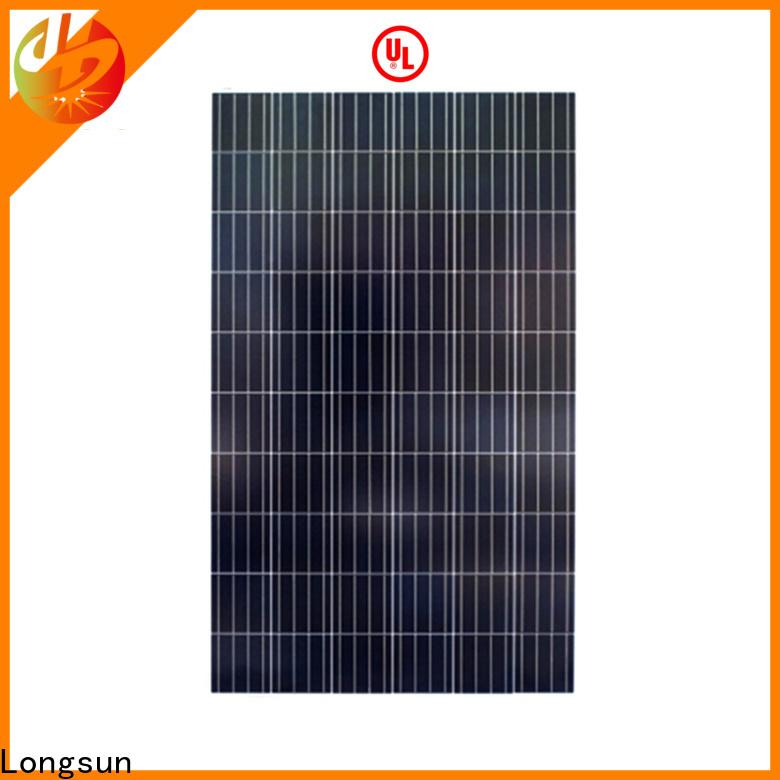 Longsun high-end poly solar panel supplier for aerospace