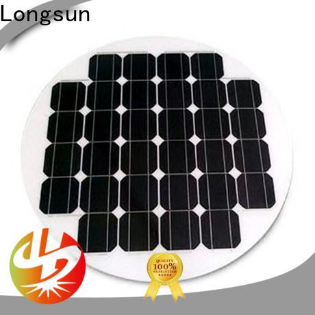 Longsun widely used solar panel manufacturers manufacturer for Solar lights