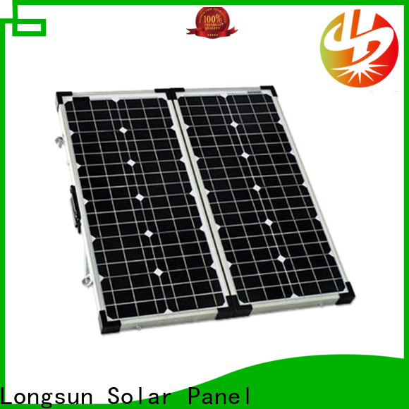 Longsun yeas folding solar panels dropshipping for caravaning