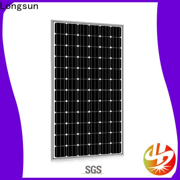 Longsun professional sunpower solar panels series for marine