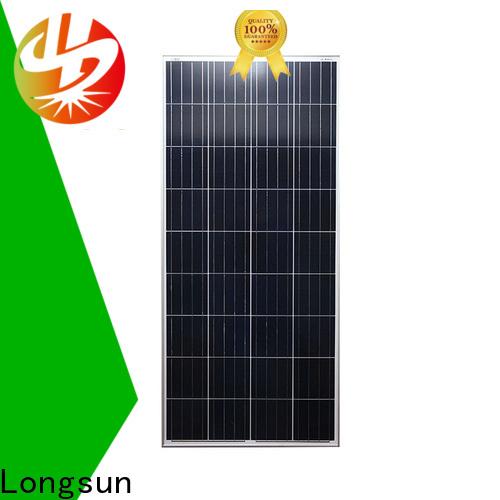 Longsun widely used polycrystalline solar panel series for solar street lights