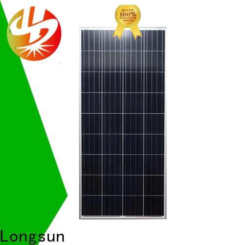 Longsun widely used polycrystalline solar panel series for solar street lights