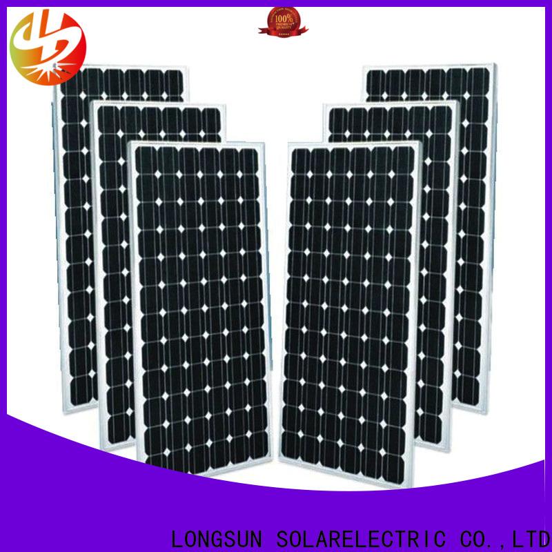 Longsun pv monocrystalline pv module producer for ground facilities