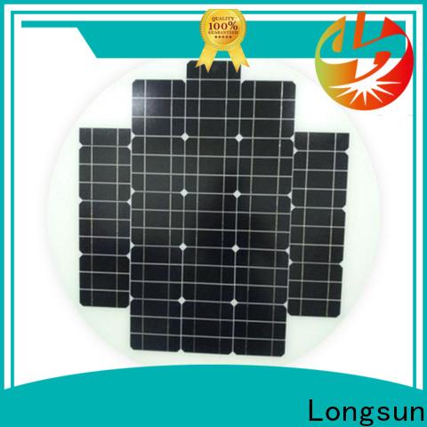 Longsun durable solar power panels producer for Solar lights