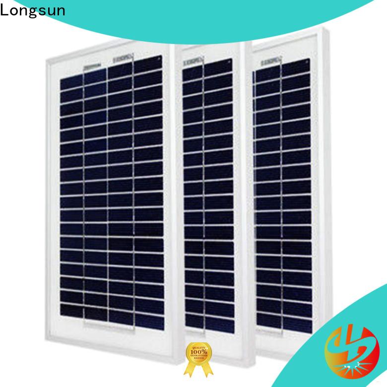 Longsun competitive price solar pv modules manufacturers series for solar street lights