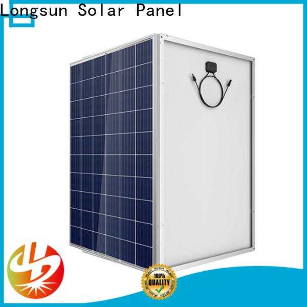Longsun 340w high power solar panels vendor for powerless area