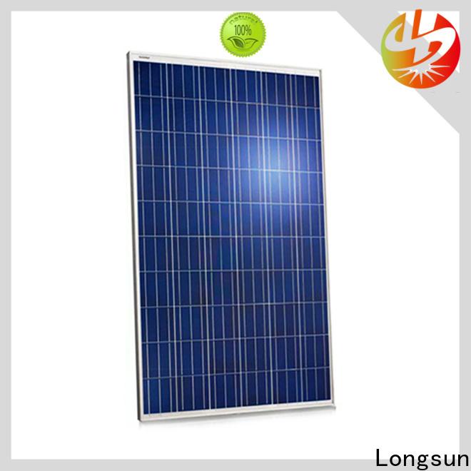 Longsun monocrystalline best solar panel company manufacturer for lamp power supply