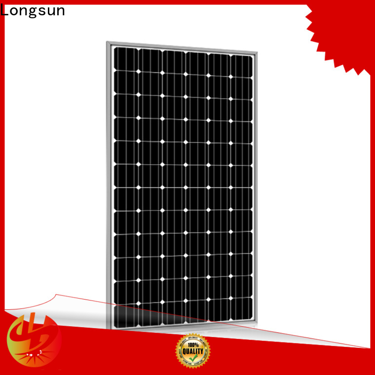reliable high capacity solar panels 320w for meteorological