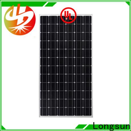 Longsun 330w high power solar panels series for communication field