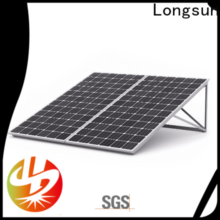Longsun durable high capacity solar panels for marine