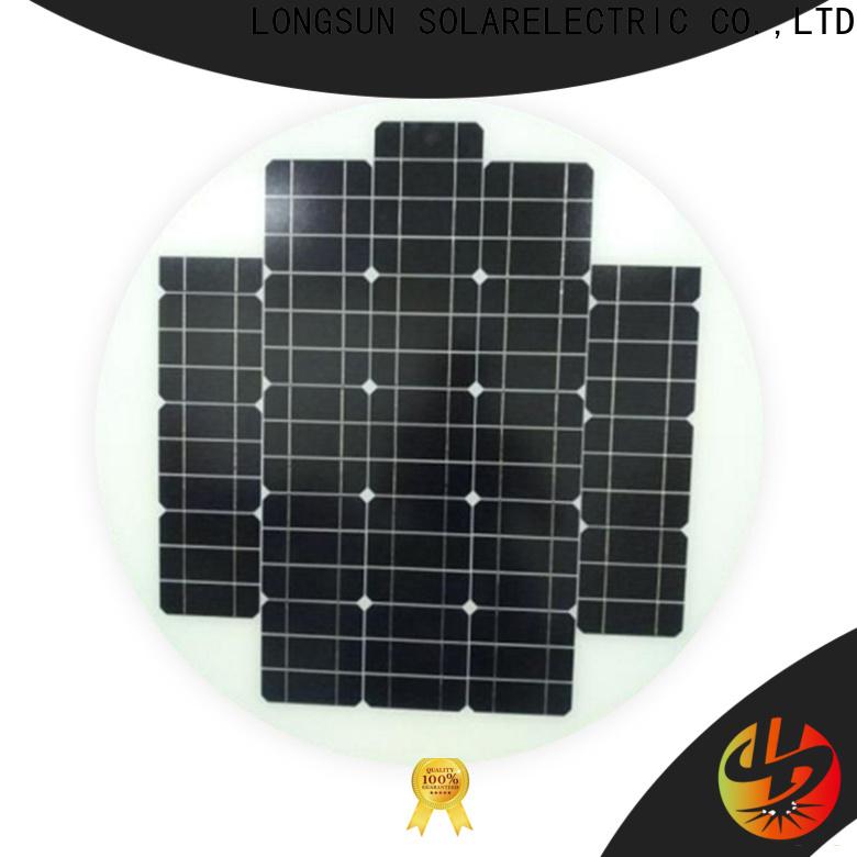 Longsun solar circle solar panel wholesale for Solar lights