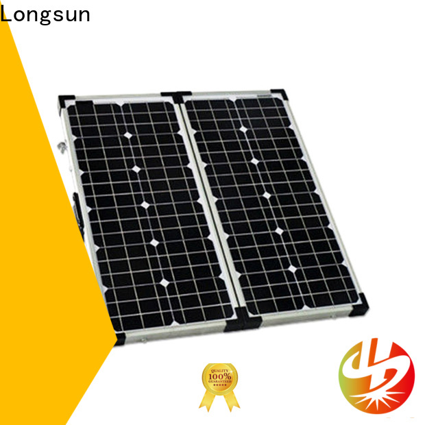 Longsun affordable price solar panel manufacturers factory price for 4WD