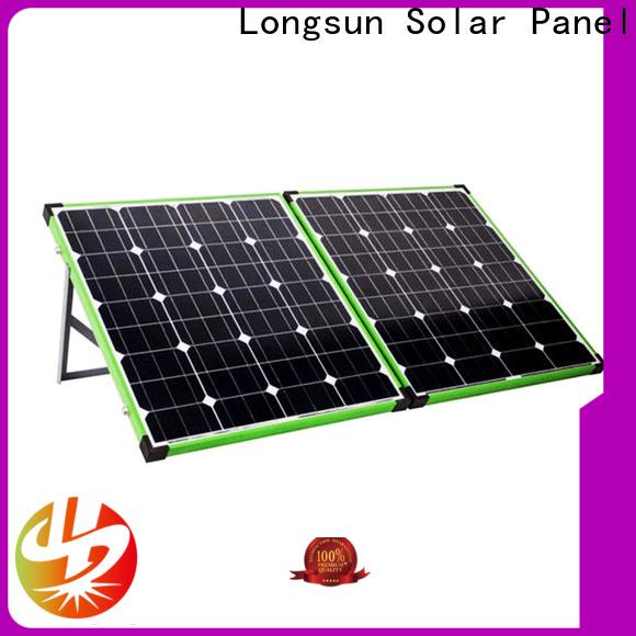 Longsun experience best foldable solar panel producer for caravaning