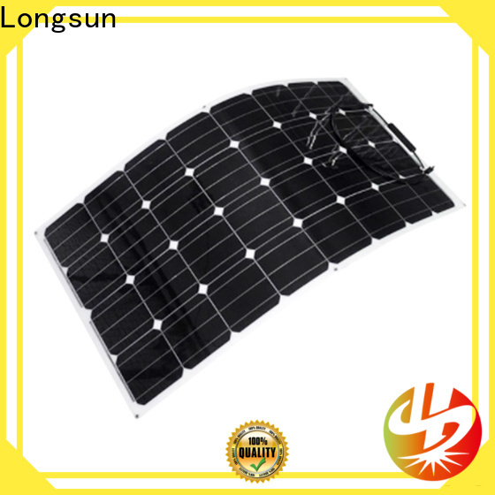 Longsun high-quality advanced solar panels overseas market for roof of rv