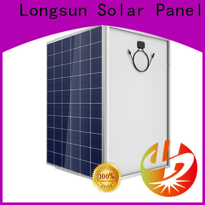 Longsun competitive price highest rated solar panels overseas market for communication field