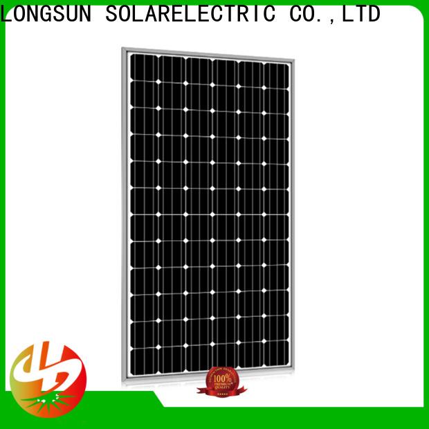 Longsun 285w highest rated solar panels supplier for petroleum