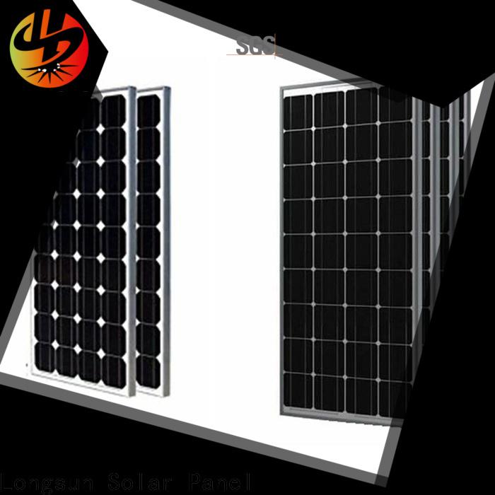 Longsun competitive price sunpower solar panels supplier for petroleum