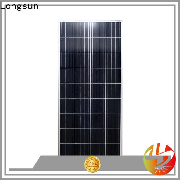 Longsun photovoltaic polycrystalline solar module dropshipping for solar street lights