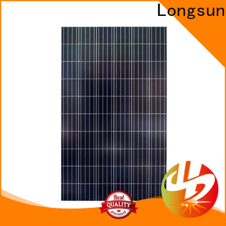 Longsun 250w poly solar panel dropshipping for solar street lights