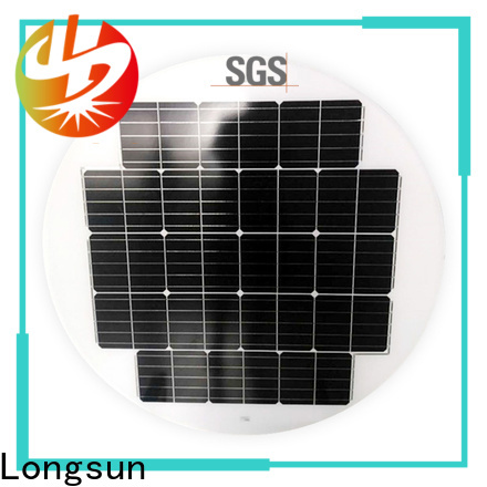 Longsun durable new solar panels producer for Solar lights