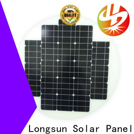 Longsun 80w new solar panels supplier for Solar lights