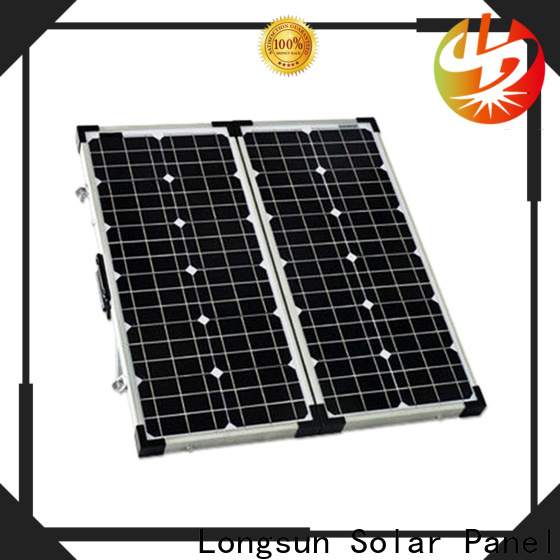 Longsun waterproof best foldable solar panel supplier for caravaning