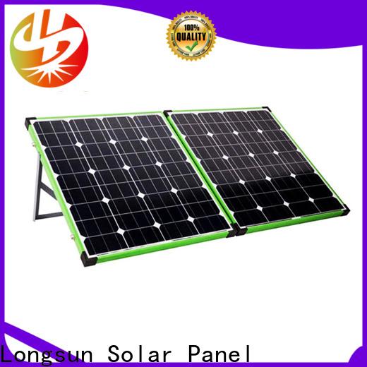 Longsun foldable best foldable solar panel wholesale for camping