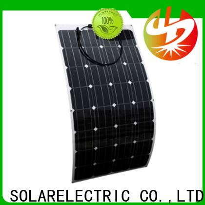Longsun long-life flexible solar panels overseas market for roof of rv