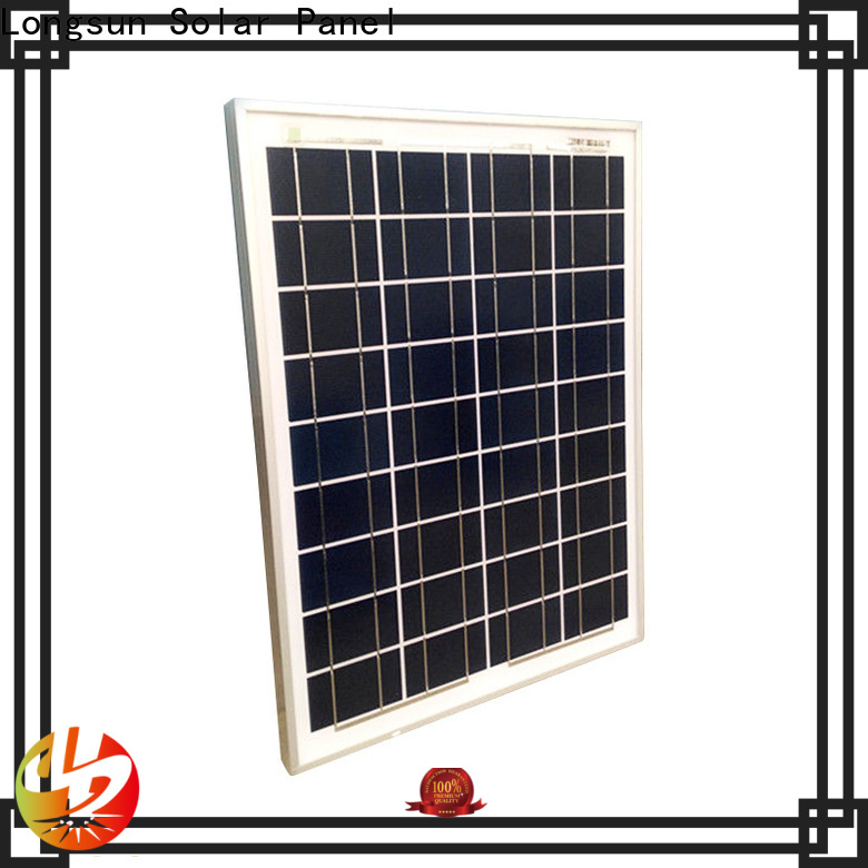 Longsun widely used poly solar panel order now for communications