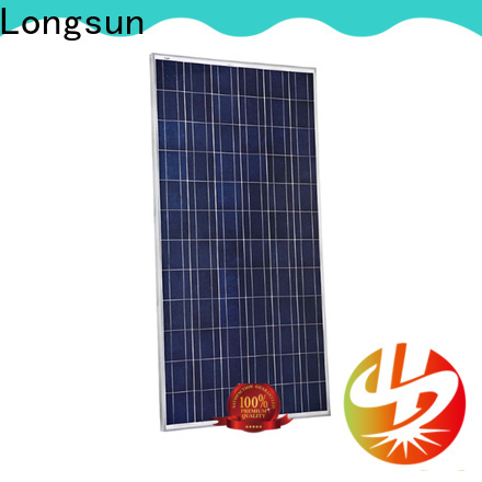 Longsun competitive price solar panel manufacturers series for traffic field