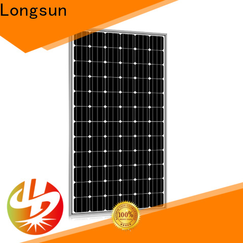 Longsun online powerful solar panels overseas market for meteorological