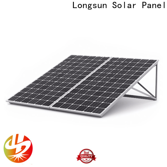 Longsun professional high capacity solar panels for petroleum