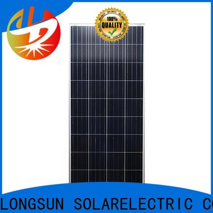 Longsun poly polycrystalline solar module owner for communications