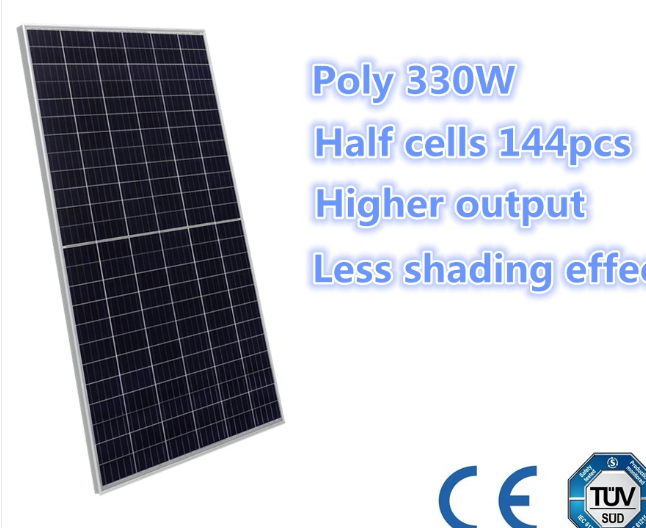 Trustworthy High Efficiency Poly Half-cell perc 280W-340W Solar panel