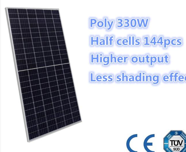 half-cell solar panel