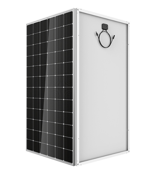 High output Mono solar cell 48V 380W black panel 1950*990*45mm